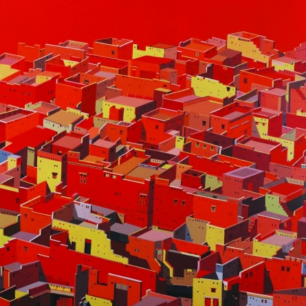 Untitled 10 | Painting by artist Madan Pawar | acrylic | Canvas