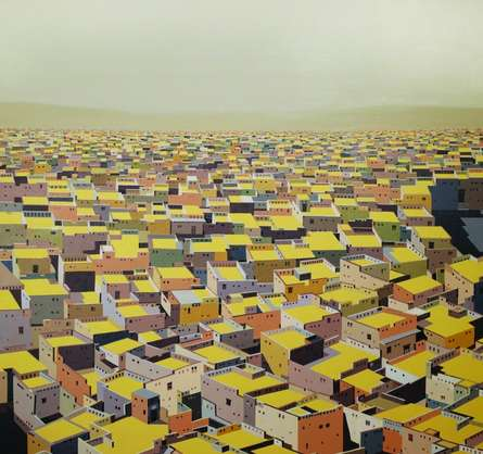 Untitled 8 | Painting by artist Madan Pawar | acrylic | Canvas