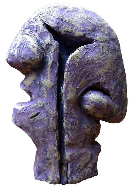 Portreat 2   Sculpture by artist Ashwam Salokhe   Fiberglass