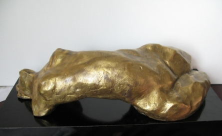 Bronze Sculpture titled 'Beaconed' by artist Shankar Ghosh