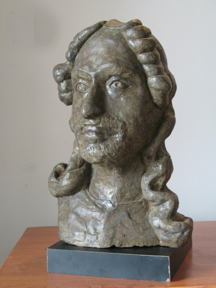 Tagore | Sculpture by artist Shankar Ghosh | Bronze