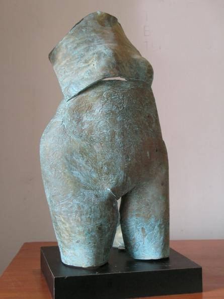 Bronze Sculpture titled 'Torso 2' by artist Shankar Ghosh