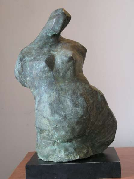Bronze Sculpture titled 'Torso 3' by artist Shankar Ghosh