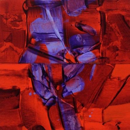 Untitled 4 | Painting by artist Dnyaneshwar Ingle | acrylic | Canvas