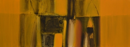 Abstract Acrylic Art Painting title 'Untitled 6' by artist Yogesh Patil