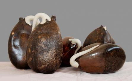 Birth Of Ego 3   Sculpture by artist Triveni Tiwari   Ceramic
