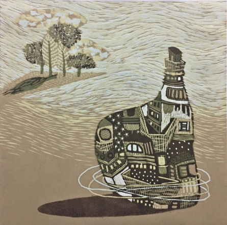 Payal Rokade | Dream City 11 Printmaking by artist Payal Rokade | Printmaking Art | ArtZolo.com