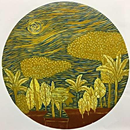 Payal Rokade | Dream City 6 Printmaking by artist Payal Rokade | Printmaking Art | ArtZolo.com