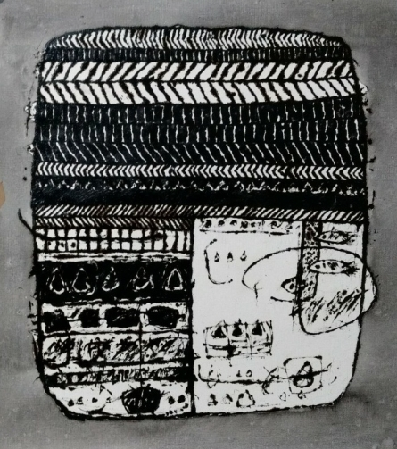 Untitled 1 | Drawing by artist Sagar Kamble | | ink | Paper