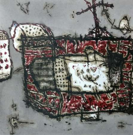 art, drawing, canvas, ink, contemporary, original