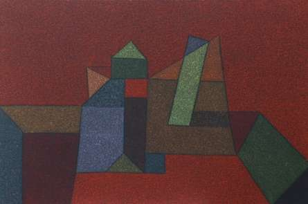 Untitled 1 | Painting by artist Ganesh Chavan | oil | Canvas