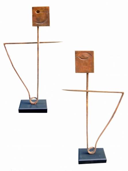 art, sculpture, bronze, abstract