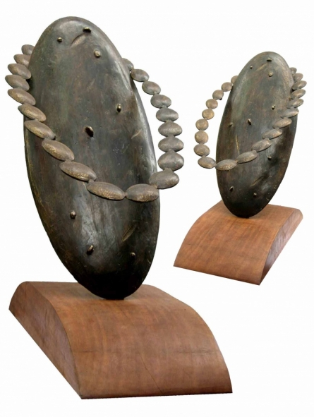 Sukanta Chowdhury | Relation Sculpture by artist Sukanta Chowdhury on Bronze | ArtZolo.com