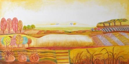 art, beauty, painting, acrylic, canvas, nature