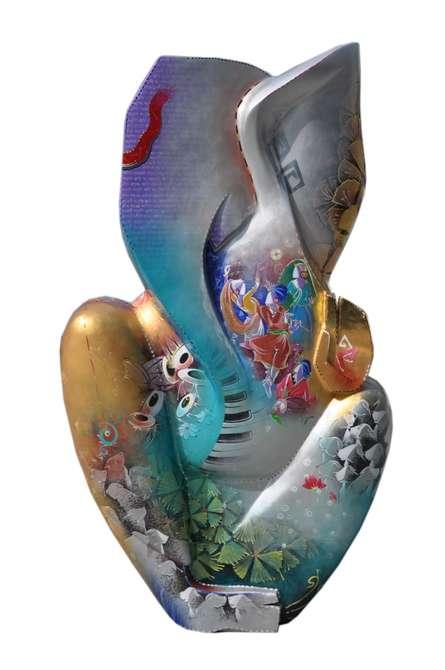 Ganesha | Sculpture by artist Swati Pasari | Fiberglass