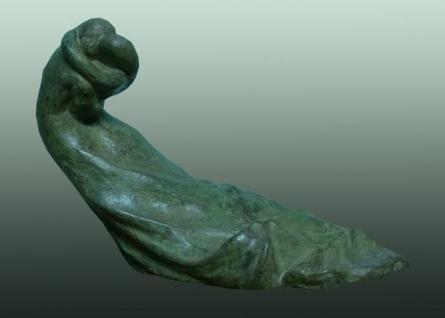 Bronze Sculpture titled 'Storm' by artist Somnath Chakraborty