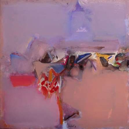Shrikant Kadam | Acrylic Painting title Untitled 108 on Canvas | Artist Shrikant Kadam Gallery | ArtZolo.com