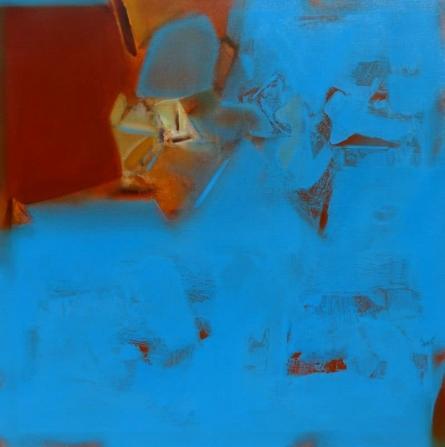 Abstract Acrylic Art Painting title Untitled 119 by artist Shrikant Kadam
