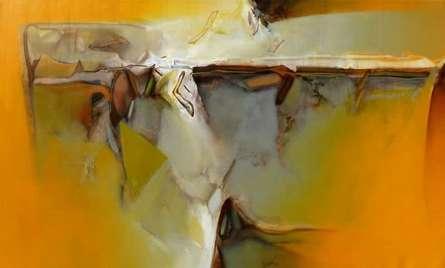Untitled 127 | Painting by artist Shrikant Kadam | acrylic | Canvas