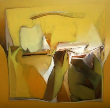 Abstract Acrylic Art Painting title Untitled 150 by artist Shrikant Kadam