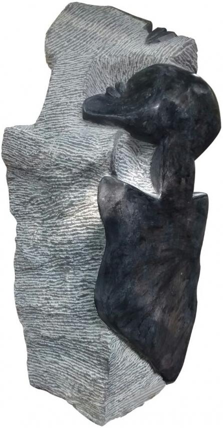 Pradeep Jogdand | Untitled 7 Sculpture by artist Pradeep Jogdand on Black Marble | ArtZolo.com