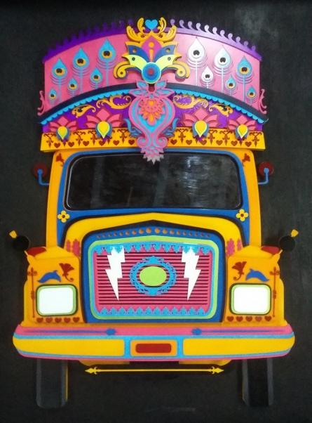 Haribaabu Naatesan   Nh 47 Sculpture by artist Haribaabu Naatesan on Acrylic Glass   ArtZolo.com