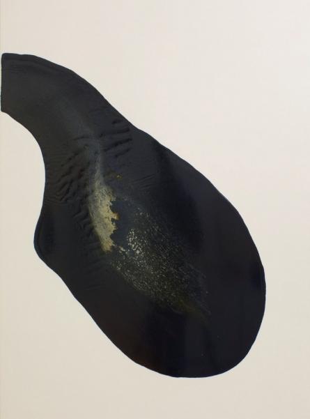 Abstract Enamel Art Painting title 'Untitled 1' by artist Pankaj Vishwakarma