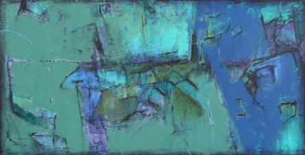 Abstract Mixed-media Art Painting title Untitled 10 by artist Anuja Paturkar