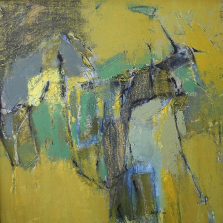 Abstract Mixed-media Art Painting title Untitled 29 by artist Anuja Paturkar