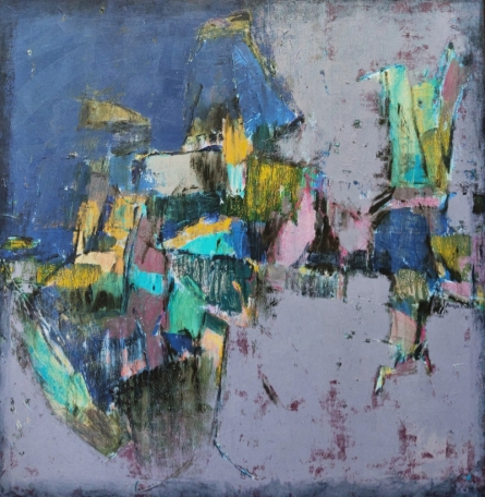 Abstract Mixed-media Art Painting title Untitled 36 by artist Anuja Paturkar