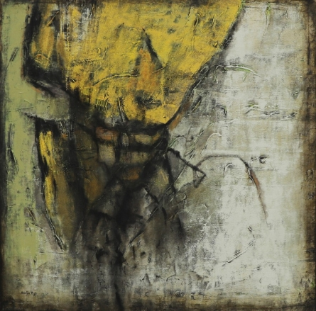 Abstract Mixed-media Art Painting title Untitled 5 by artist Anuja Paturkar