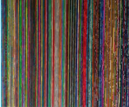 Abstract Mixed-media Art Painting title Untitled 1 by artist Yuvan Bothisathuvar