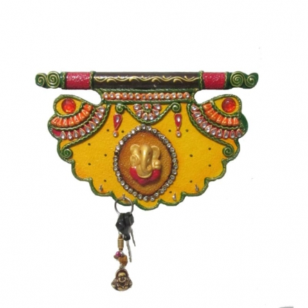 Ecraft India | Pankhi Key Hanger Craft Craft by artist Ecraft India | Indian Handicraft | ArtZolo.com