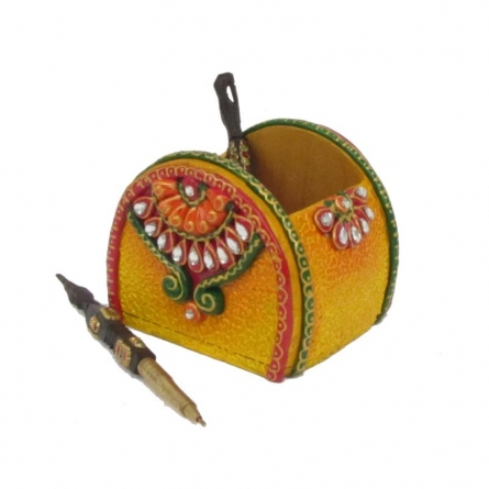 Ecraft India | Pen Stand Craft Craft by artist Ecraft India | Indian Handicraft | ArtZolo.com