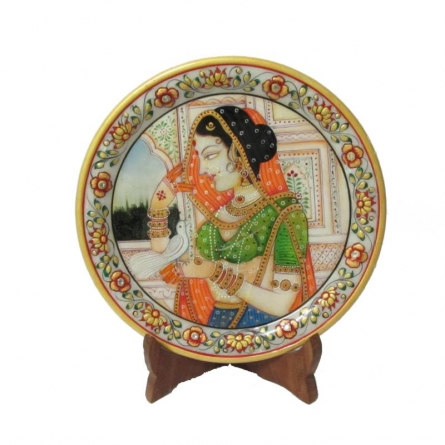 Ecraft India | Lady Bird Etched Plate Craft Craft by artist Ecraft India | Indian Handicraft | ArtZolo.com
