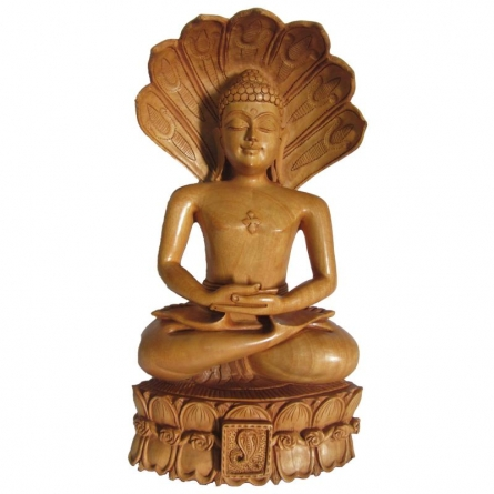 Lord Parshwanath ji | Craft by artist Ecraft India | wood