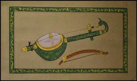 Unknown | Miniature Traditional art title Peacock Styled Ektara on Paper | Artist Unknown Gallery | ArtZolo.com