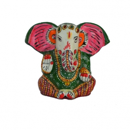 E Craft | Meenakari Lord Ganesha Statue Craft Craft by artist E Craft | Indian Handicraft | ArtZolo.com