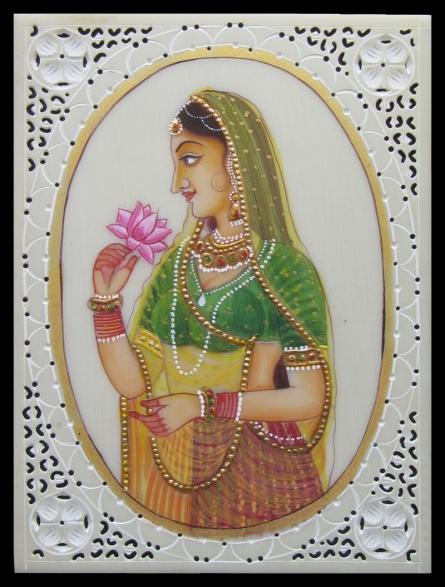 art, traditional, mughal, figurative, plastic sheet