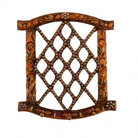E Craft | Splendid Papier Mache Key Holder Craft Craft by artist E Craft | Indian Handicraft | ArtZolo.com