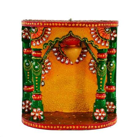 E Craft | Kundan Mandir(Temple) Craft Craft by artist E Craft | Indian Handicraft | ArtZolo.com