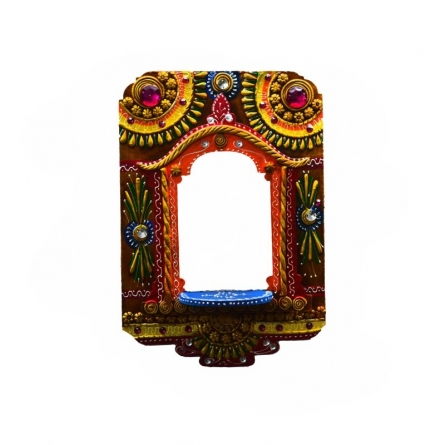 Wall Hanging Kundan Mandir(Temple)   Craft by artist E Craft   Paper