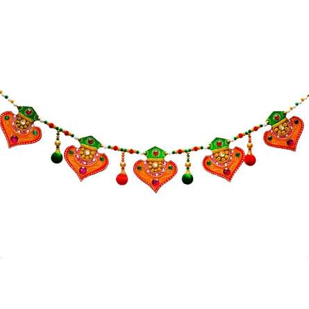 Colorful Bandarwal - Door Hanging | Craft by artist E Craft | Paper
