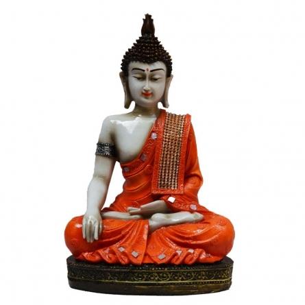 Meditating Buddha   Craft by artist E Craft   Synthetic Fiber