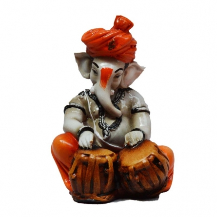 E Craft | Ganesha Playing Tabla Craft Craft by artist E Craft | Indian Handicraft | ArtZolo.com