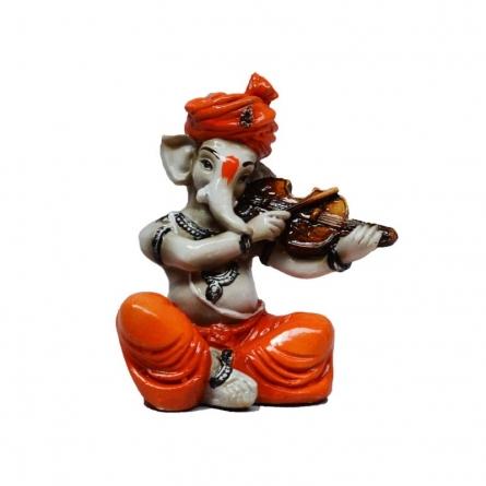 Ganesha Playing Violin | Craft by artist E Craft | Synthetic Fiber