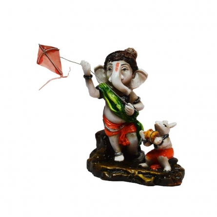 Ganesha flying Kites | Craft by artist E Craft | Synthetic Fiber