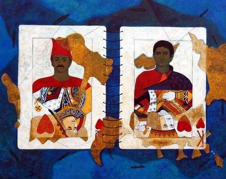 Queen Of Heart | Painting by artist Harshada Kolapkar | acrylic | Canvas