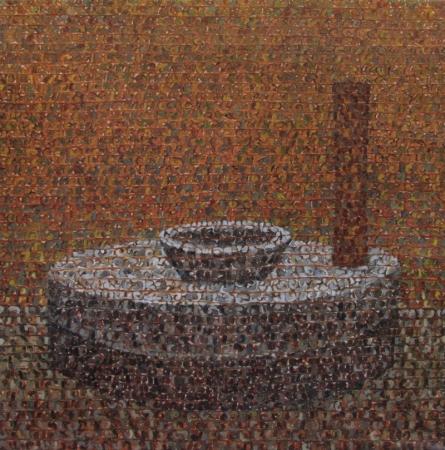 Untitled 5   Painting by artist Kuldeep Karagaonkar   oil   Canvas
