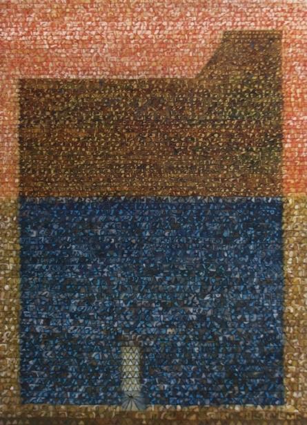 Untitled 6 | Painting by artist Kuldeep Karagaonkar | oil | Canvas